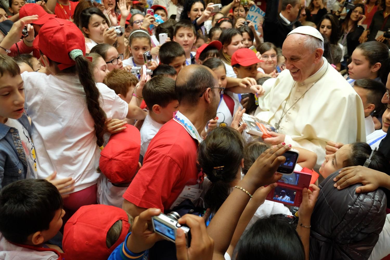 L'orchestra Sanitansamble da Papa Francesco
