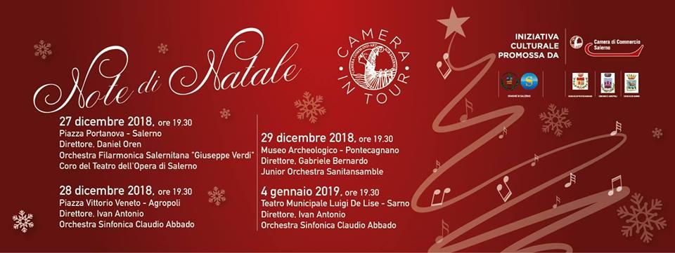 3′ appuntamento di Cameraintour – Note di Natale – Pontecagnano-Faiano, 29 dicembre 2018 ore 19.30 – Sanitansamble