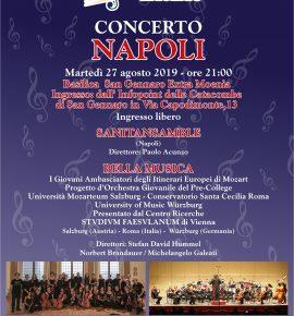 Concerto Napoli e Mozarteum di Salisburgo