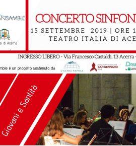 Concerto 15 settembre presso Teatro Italia di Acerra