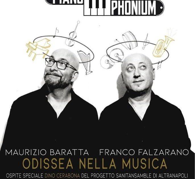 """Il giorno 8 Febbraio 2020, il maestro Maurizio Baratta, si esibirà in """"Odissea nella musica"""" presso il teatro BOLIVAR di Napoli, insieme a Franco Falzarano!"""