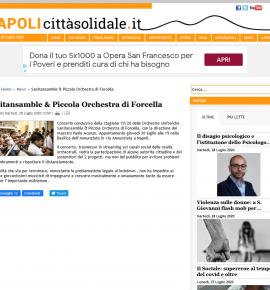 Napolicittàsolidale: Sanitansamble & Piccola Orchestra di Forcella