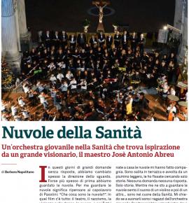 Magazine Dodici: Nuvole della Sanità – Un'orchestra giovanile nella Sanità che trova ispirazione da un grande visionario, il maestro Josè Antonio Abreu