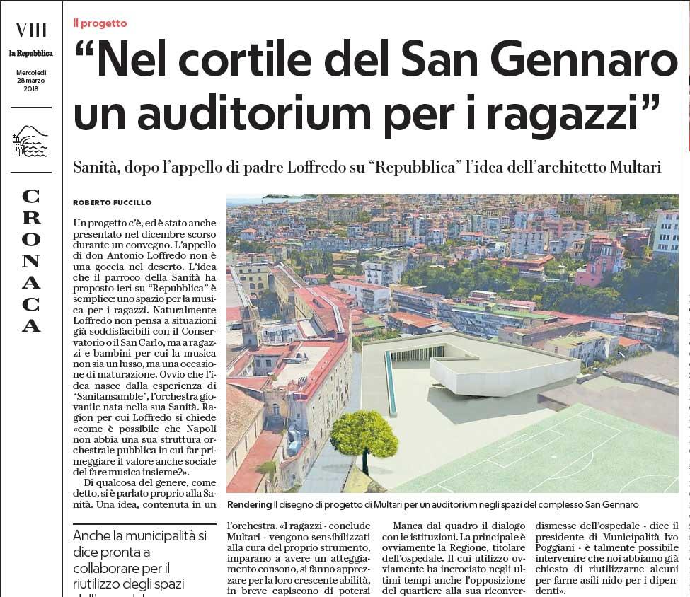 La Repubblica 28 marzo 2018
