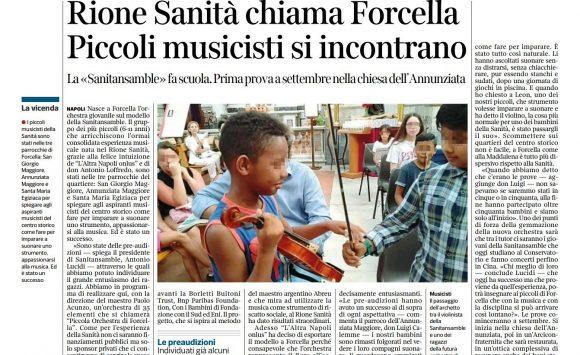 Rione Sanità chiama Forcella