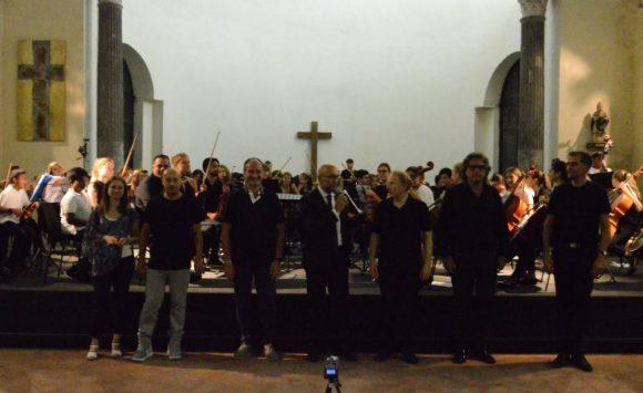 Grande emozione per il concerto con gli allievi del Mozarteum di Salisburgo